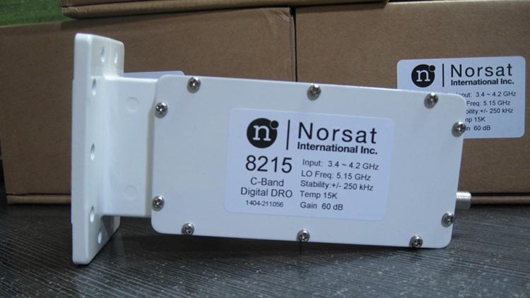 我公司引进诺赛特品牌的c波段,ku波段分体 卫星高频头 以及buc