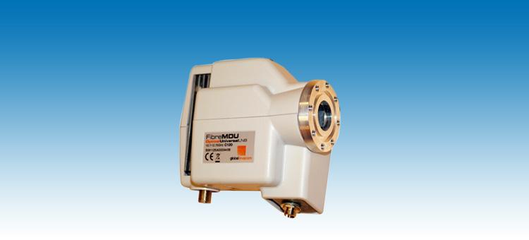 光纤卫星高频头,光纤lnb,gi - fibremdu c120 optical