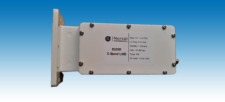 产品描述 NORSAT-8225R C-BAND DRO LNB为广电行业专用抗干扰卫星高频头,在国内各电视台及监测站长时间使用,其稳定性为国际领先水平,完全满足广播电视卫星通讯等信号接收的需求。 ...