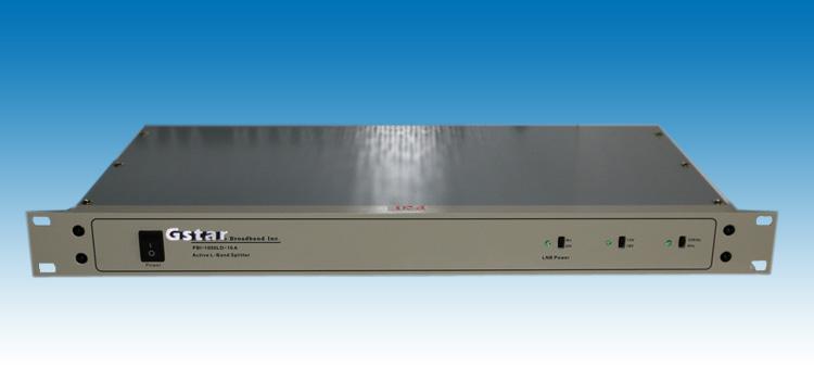 1000LD-08A 八路L波段有源功分器