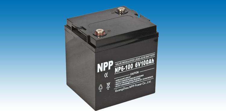 NP6-100蓄电池